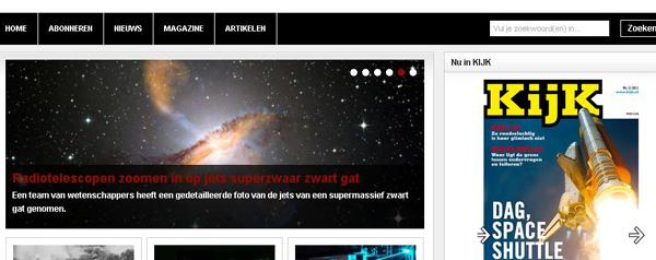 Nieuwe KIJK-site