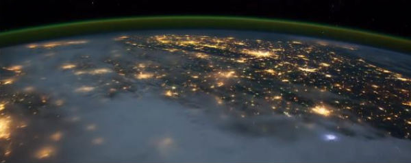 Time-lapse vanuit ISS