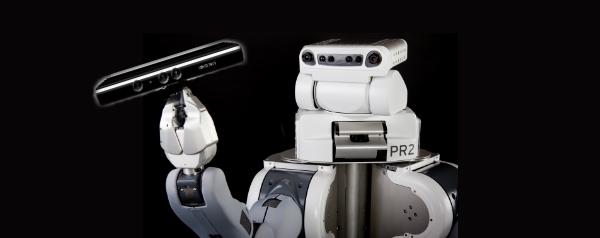Robots gebruiken de Xbox Kinect om te zien