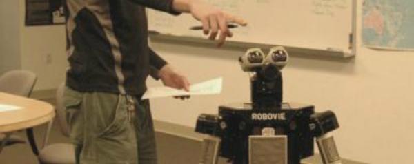 In discussie met een robot?
