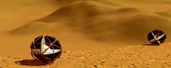 Tumbleweed rover