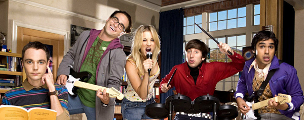 The big bang theory - banner
