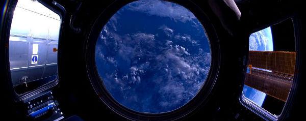 Uitzicht ISS