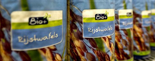 Biologische rijstwafels