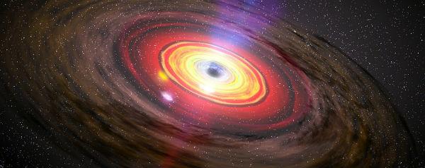 Superzwaar zwart gat
