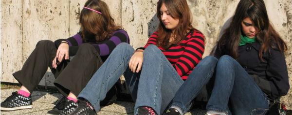 Verveelde meiden