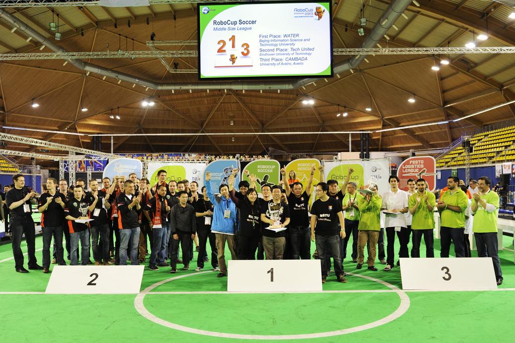 RoboCup 2013 - prijsuitreiking MSL