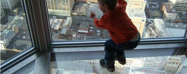 Hoogtevrees CN Tower