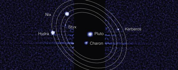 Manen van Pluto