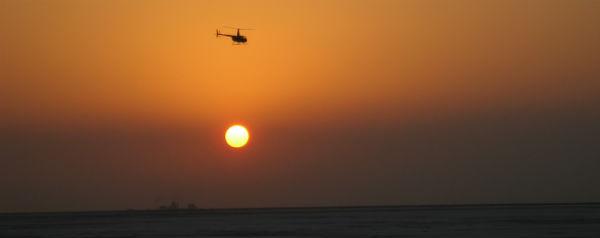 Zon helikopter conflict klimaat