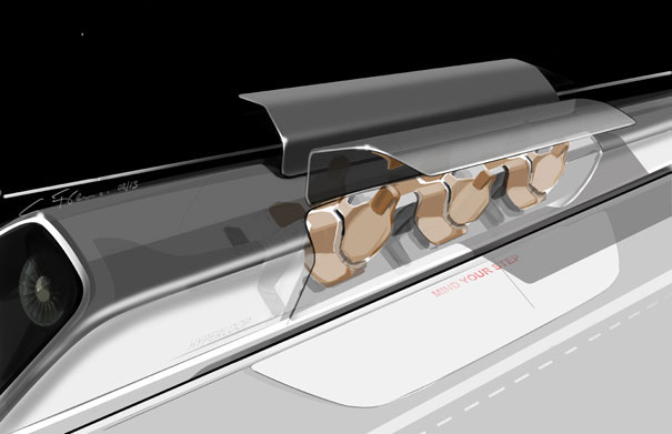 Hyperloop - artist's impression