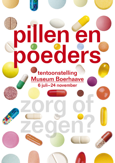 Pillen en poeders - poster