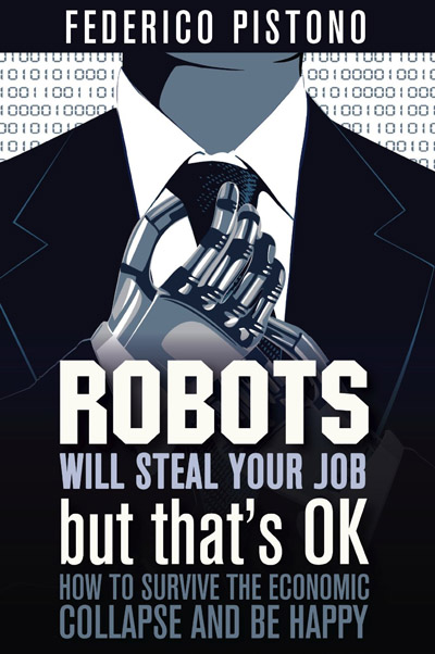 Boek 'Robots will steal your job - but that's OK'
