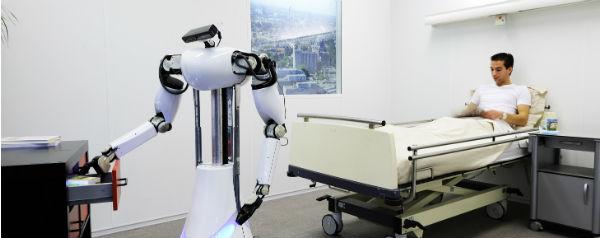 Robot in ziekenhuis