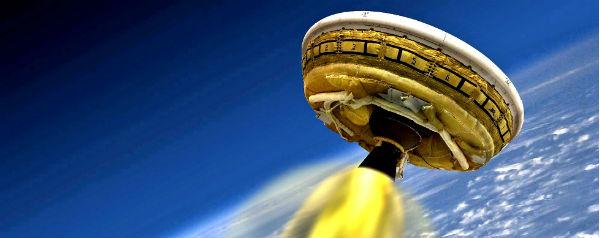 LDSD: 'vliegende schotel' voor Mars van NASA