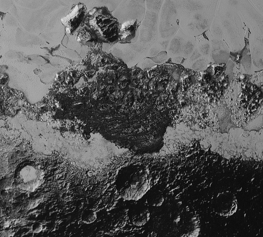 Pluto-duinen door New Horizons