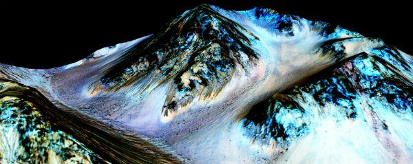 Vloeibaar water op Mars - header