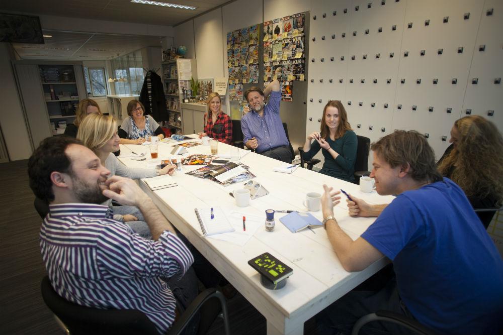 Rolf Hut brainstormt met KIJK