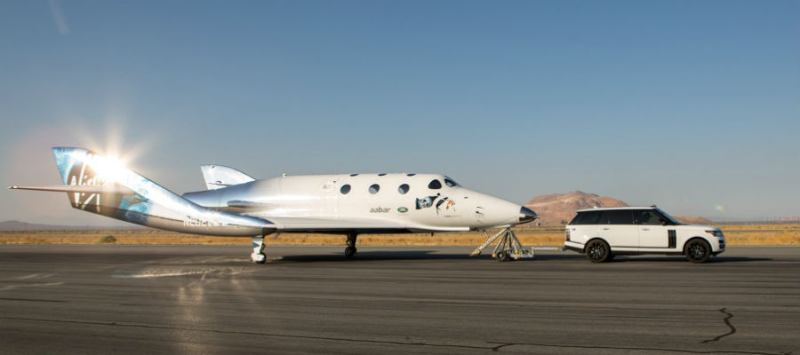 Taxitest SpaceShipTwo Virgin Galactic