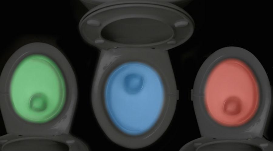 IllumiBowl toilet