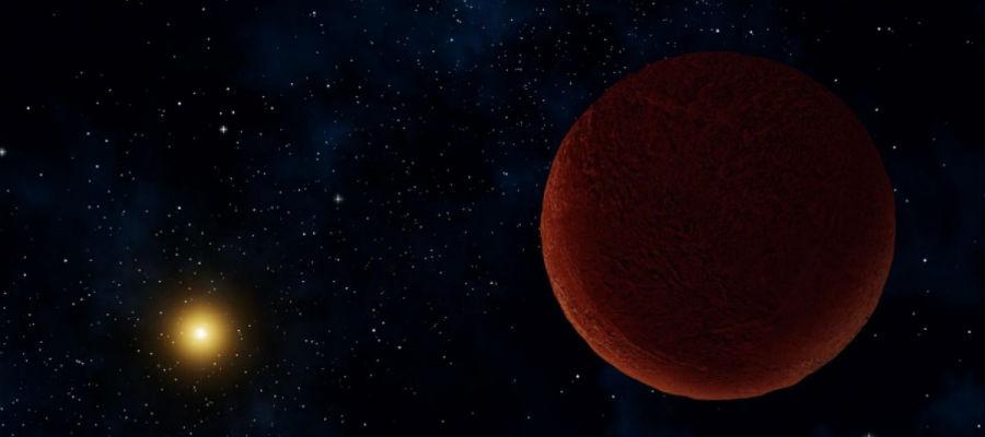 nieuwe dwergplaneet