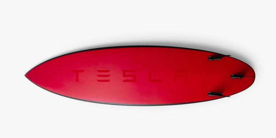Tesla surfbord