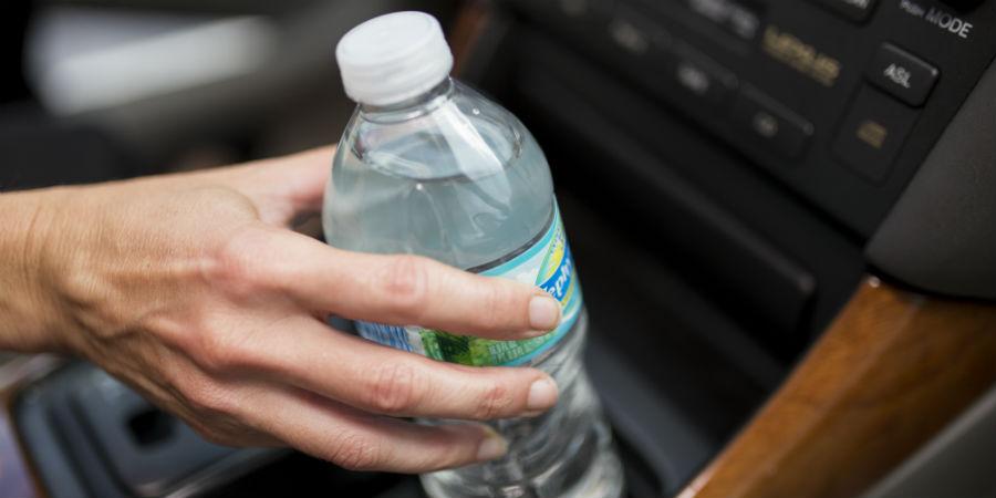 flesje water bedorven