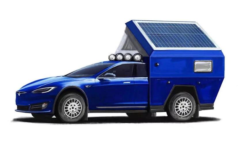 Tesla-camper Roamer