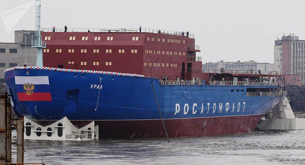 rusland oeral ijsbreker