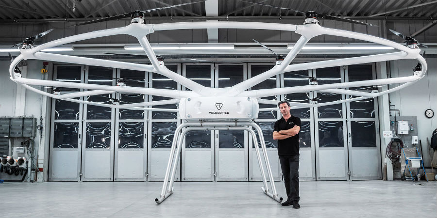 VoloDrone Volocopter