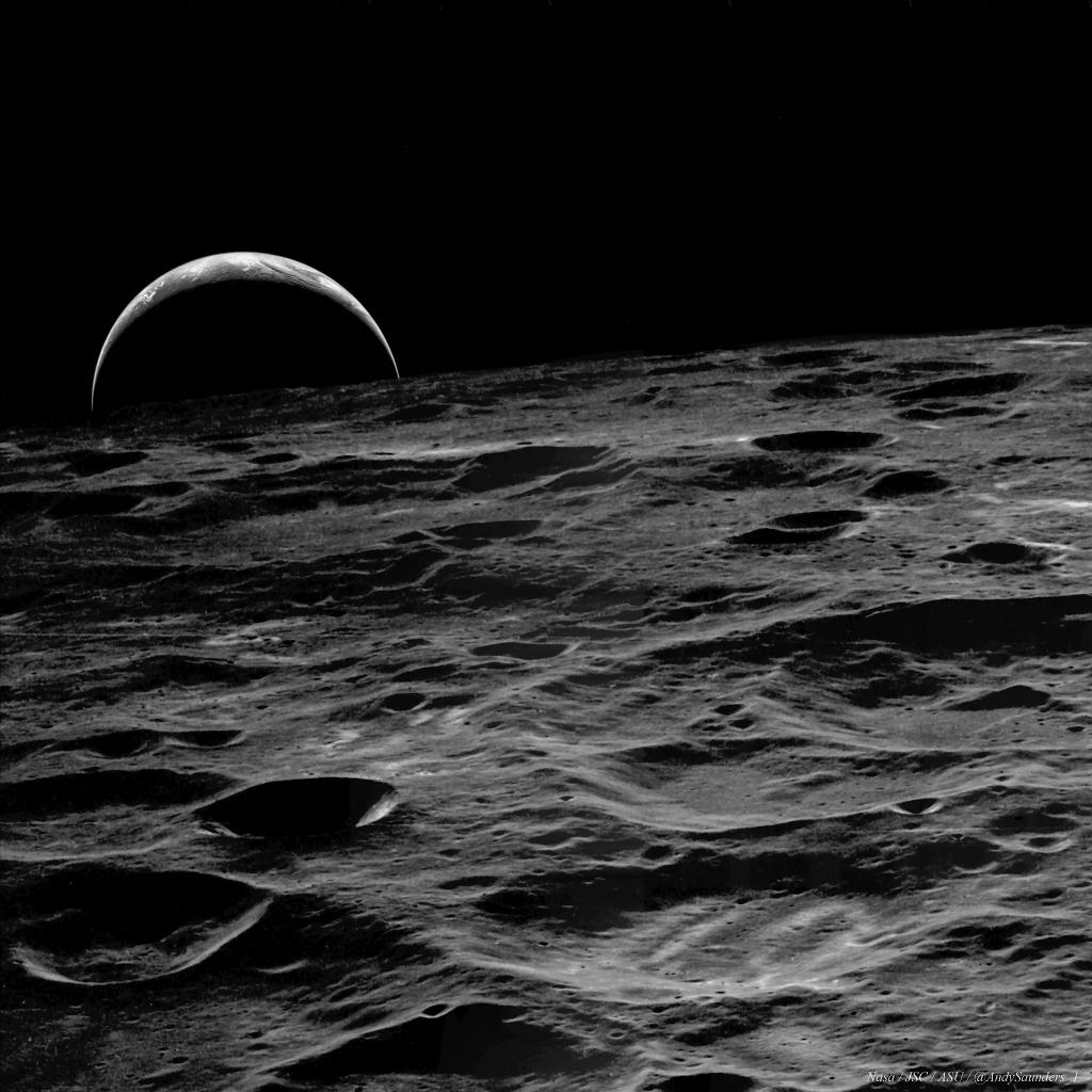 aardopkomst apollo 14 maan