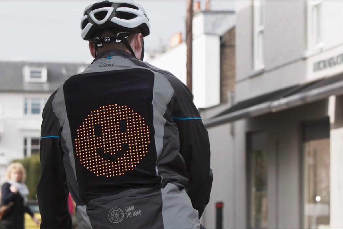 Emoji emotie communiceren fietsers bestuurders
