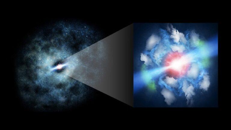 superzwaar zwart gat jets
