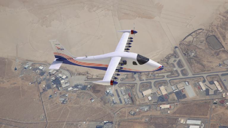 X-57 plane NASA
