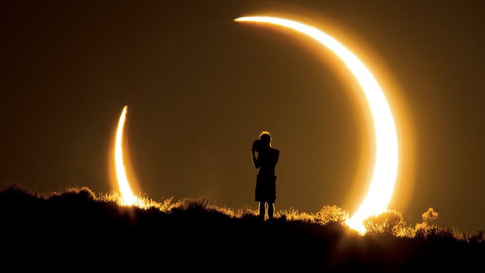ringvormige eclips