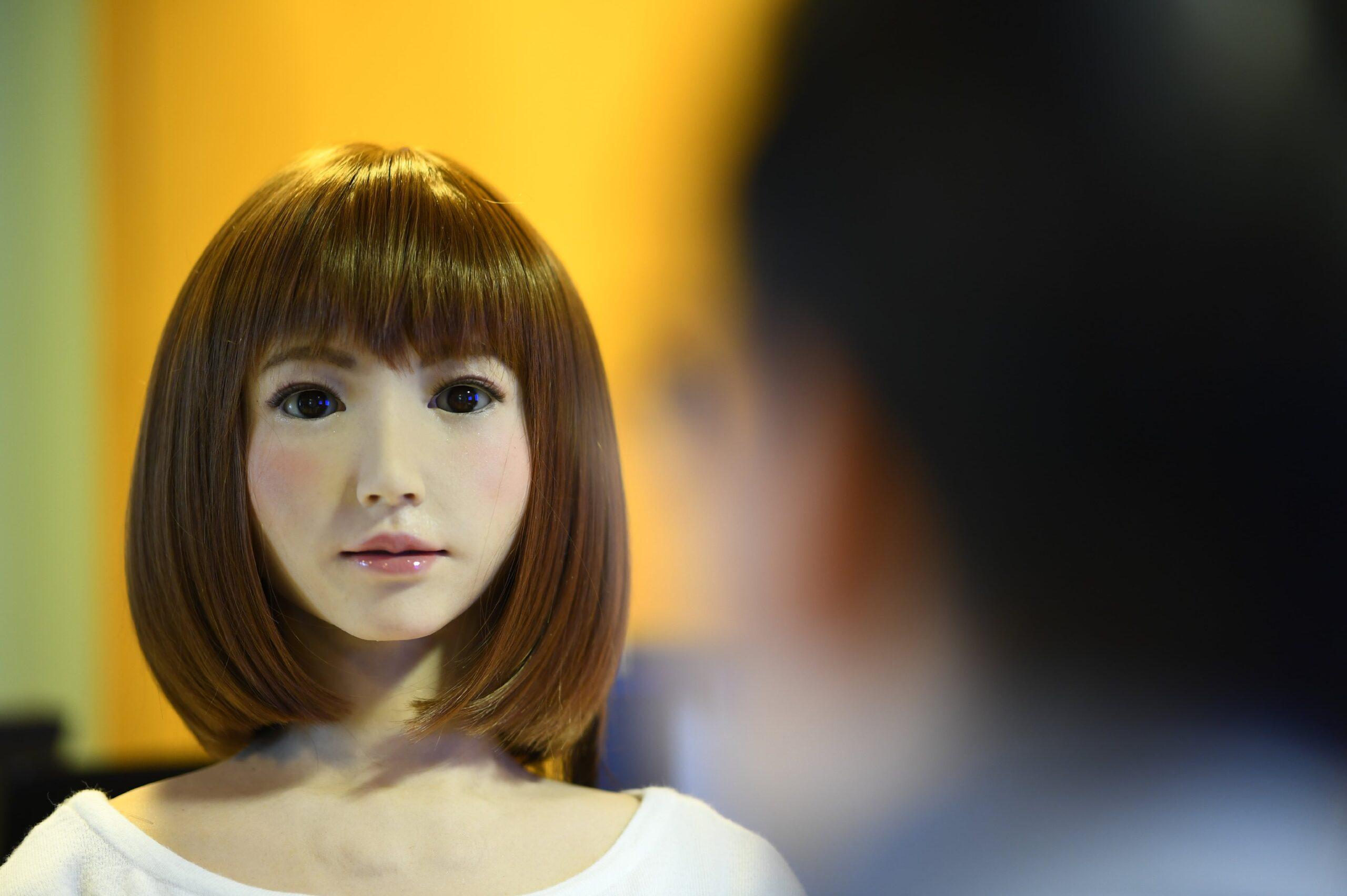 AI Robot Erica in de hoofdrol