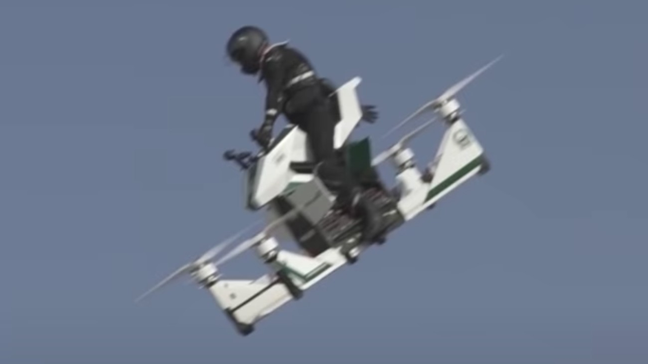 hoverbike crash